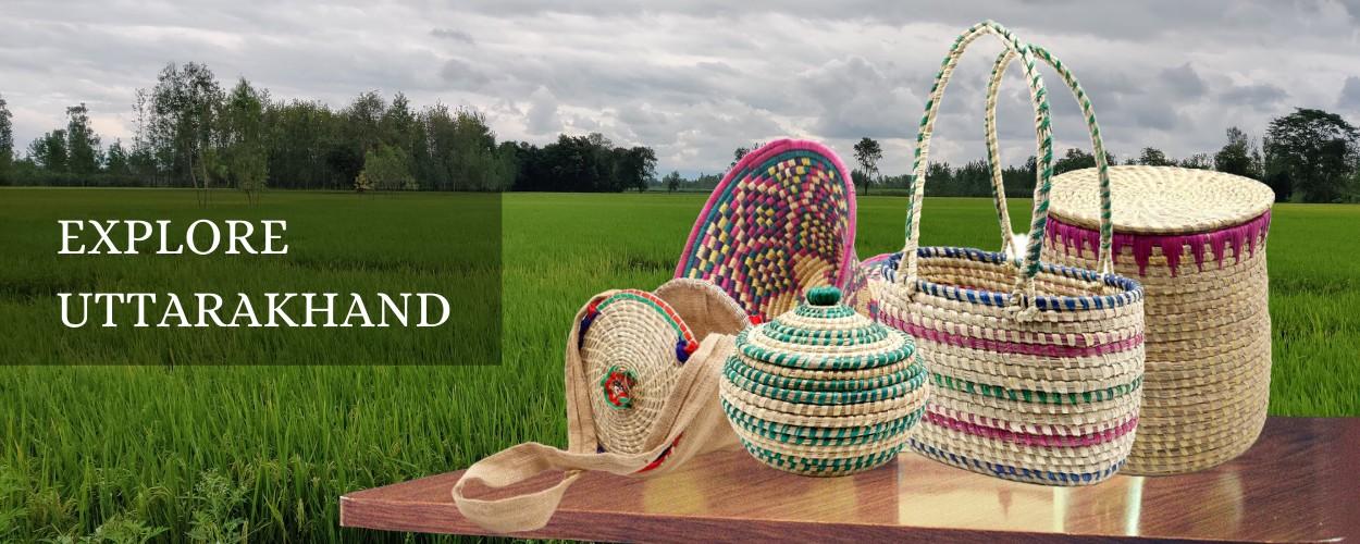uttarakhand moonj grass products