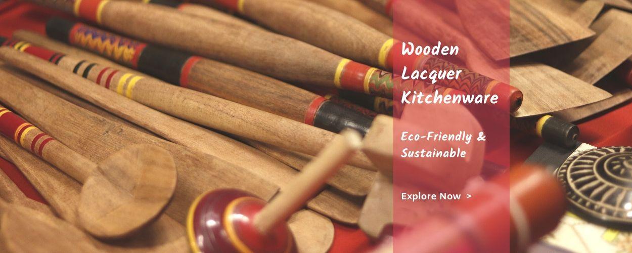 online wooden lacquer ecofriendly kitchen ware on megastores