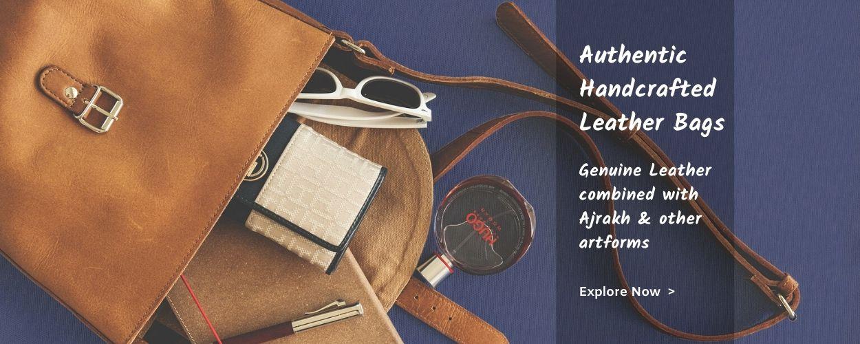 genuine handcrafted leather handbags latest fashion